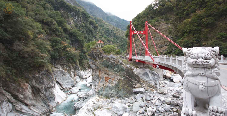 Taroko-Schlucht im Osten von Taiwan