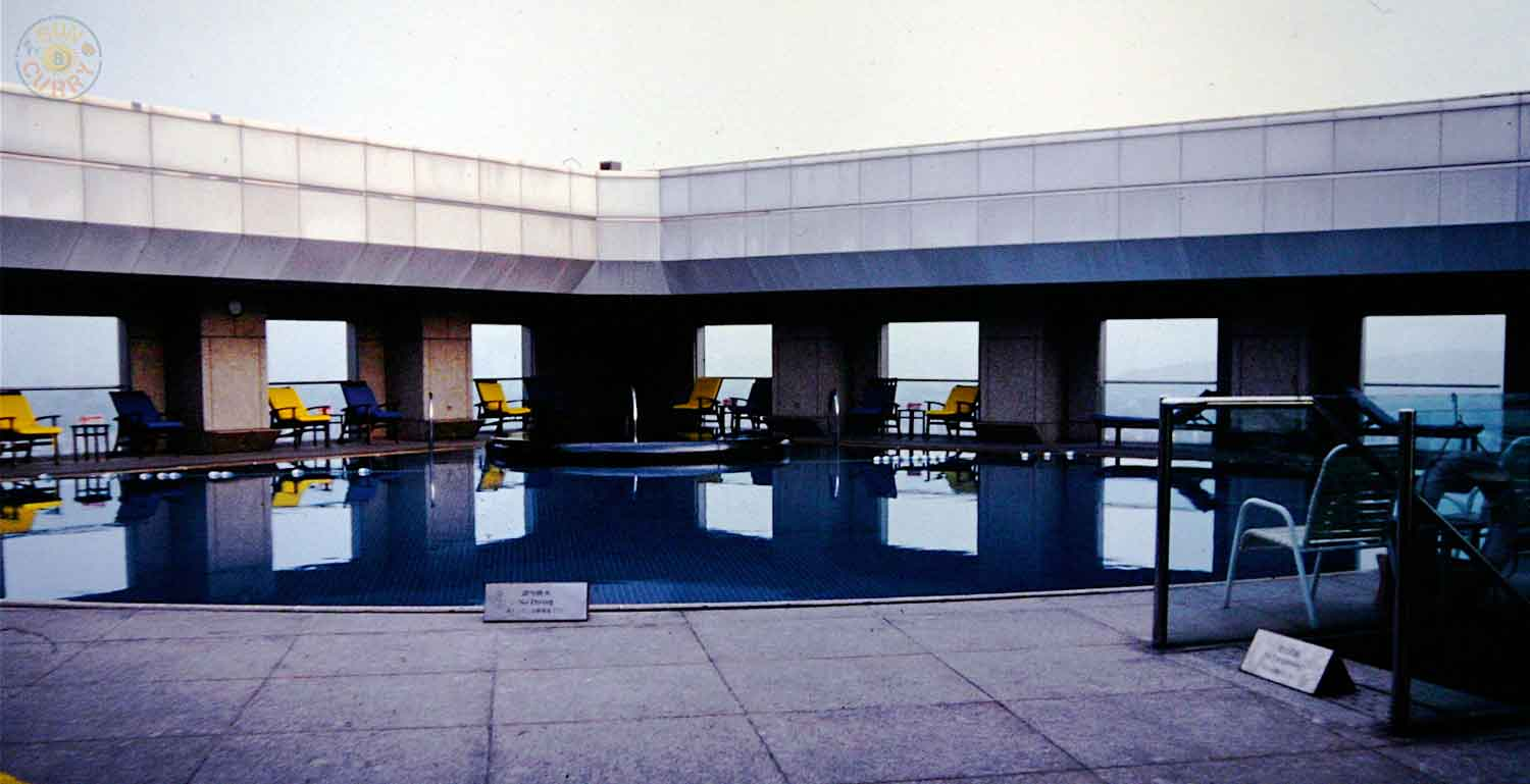 Roof Top Pool im Far Eastern Plaza Hotel Taipei