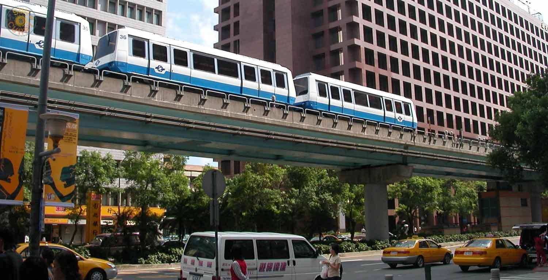 MRT in Taipei