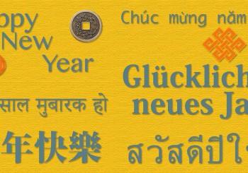 Neujahr Südostasien